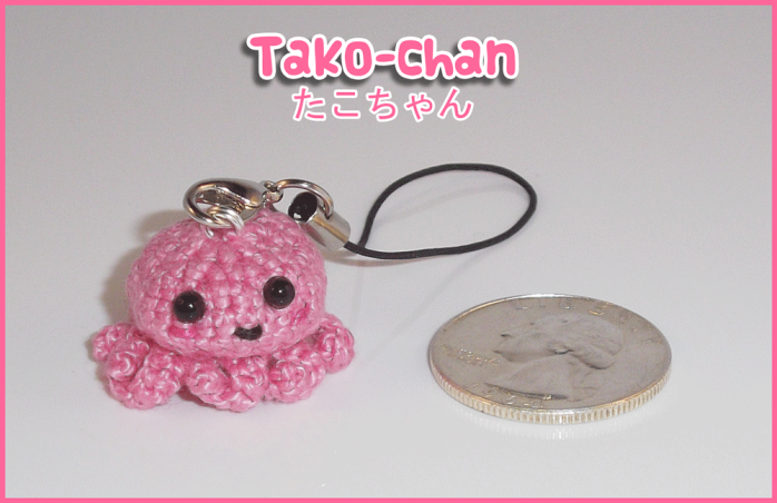 Tako-chan Cellphone Strap